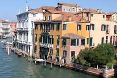 Grand Canal, Venice. View from bridge Royalty Free Stock Photography