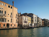 Grand canal in Venice Stock Images