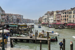 The Grand Canal, Venice Royalty Free Stock Photography