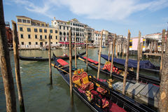 Grand Canal at Venice Royalty Free Stock Photo