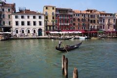 Grand Canal at Venice Stock Photos
