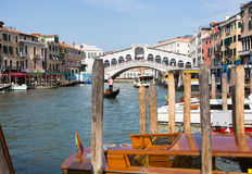 Grand Canal at Venice Royalty Free Stock Images