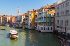 Grand Canal -- Venice Stock Image