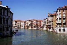 Grand Canal, Venise, Italie Image libre de droits