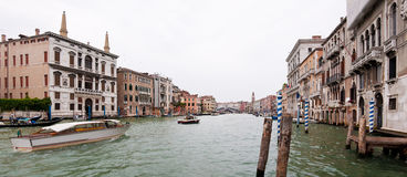 Grand Canal view Stock Images