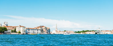 Grand canal view. Venice Royalty Free Stock Images
