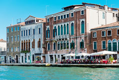Grand canal view. Venice Royalty Free Stock Image