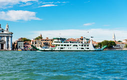 Grand canal view. Venice, . Royalty Free Stock Photo