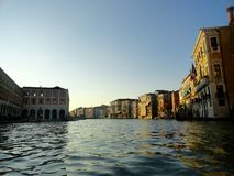 Grand Canal. The view of Grand Canal in Venice, Italy Royalty Free Stock Photography