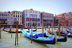 Grand Canal view Venice Italy Royalty Free Stock Photo
