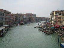 The grand canale in Venice Royalty Free Stock Photo