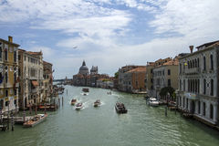 Grand canale in Venice Royalty Free Stock Images