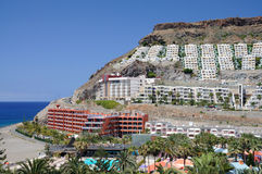 Grand Canary Island Resort Royalty Free Stock Images