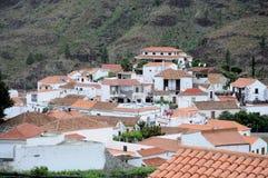Grand Canary Island Village Stock Photography