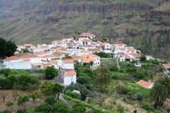 Grand Canary Village Stock Photo