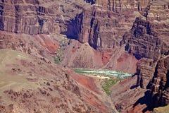 Grand Canyon áspero colorido Imagens de Stock Royalty Free