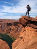 Grand Canyon übersehen Lizenzfreies Stockfoto