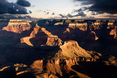Grand Canyon. The Grand Canyon at sunset Stock Image