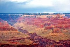 Grand Canyon. From rim of Grand Canyon royalty free stock photo