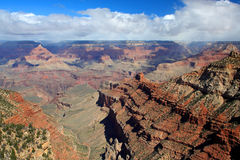 Grand Canyon. The Grand Canyon is a steep-sided gorge carved by the Colorado River in the United States in the state of Arizona. the South Rim of the Grand royalty free stock photo