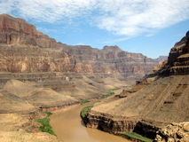 Grand Canyon. Scenic shot from the Grand Canyon in Las Vegas Royalty Free Stock Photography