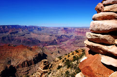 Grand Canyon. The biggest canyon of the world Royalty Free Stock Photography