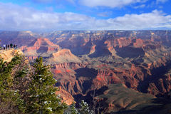 Grand Canyon. View of the Grand Canyon from the top of the South Rim. Arizona, U.S.A royalty free stock photography