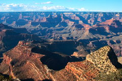 Grand Canyon (2). Sunset grand canyon national park Stock Photo