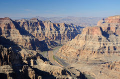 Grand Canyon. View of Grand Canyonfrom touristic point Royalty Free Stock Photos