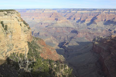 Grand Canyon. The amazing scenery of the grand canyon Stock Photo