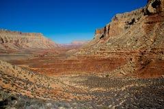 The Grand Canyon. At Hualapai Hilltop Royalty Free Stock Photography