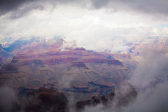 Grand Canyon. National Park in winter, South Rim Stock Photo