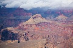 Grand Canyon. National Park in winter, South Rim Stock Images