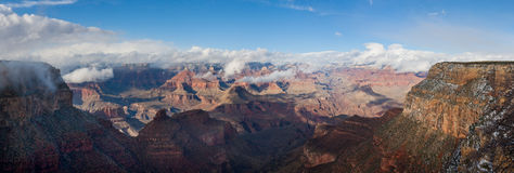 Grand Canyon. National Park in winter, South Rim Royalty Free Stock Images