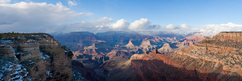 Grand Canyon. National Park in winter, South Rim Stock Photography