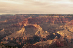 Grand canyon. At late afternoon sun Stock Images