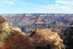 Grand Canyon. A grand view of the Grand Canyon Stock Image