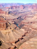Grand Canyon. Looking across one of the wonderful natural sights in the USA Stock Photos