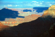 Grand Canyon. In Arizona with shadows Stock Image