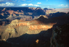 Grand Canyon. In Arizona with shadows Royalty Free Stock Image