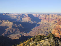 Grand Canyon. Picture of The Grand Canyon in the late afternoon Stock Photography