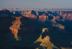 Grand canyon. View from viewpoint at sunset Stock Image