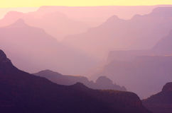 Grand Canyon Abstract Royalty Free Stock Image