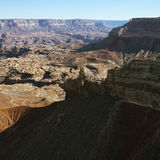Grand Canyon aerial. Royalty Free Stock Image