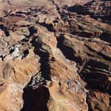 Grand Canyon aerial. Stock Images