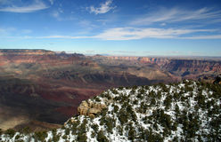 Grand Canyon Aerial. A view of the Grand Canyon aboard a helicopter tour royalty free stock photo