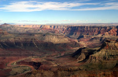 Grand Canyon Aerial View Royalty Free Stock Image
