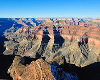 Grand Canyon aerial view Stock Photography