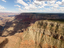 Grand Canyon Aerial View with Colorado river Stock Photos