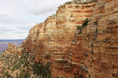 Grand Canyon aerial view landscape. Stock Photo
